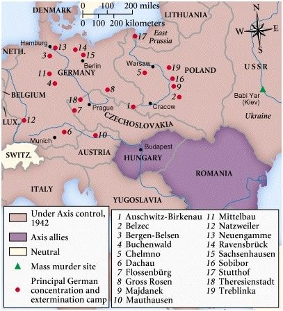 Concentration Camps To Go See Vacation Pinterest Camping And - Germany map of concentration camps