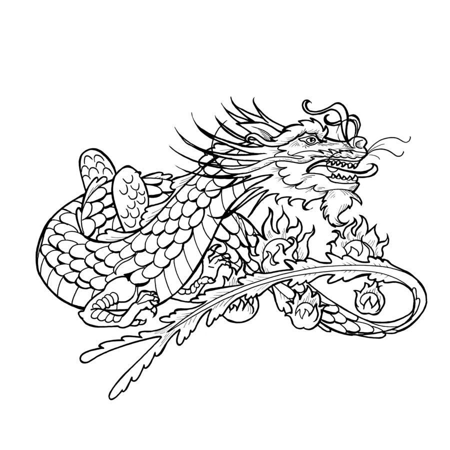 dragon tattoo stencils  tattoo stencils free tattoo