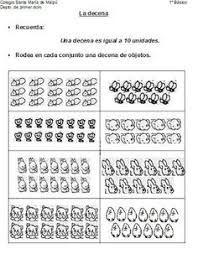 Resultado De Imagen Para Agrupar En Decenas Y Unidades Education 1