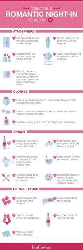 Romantic Valentines Night-In Checklist – #checklist #night #romantic #Valentines…