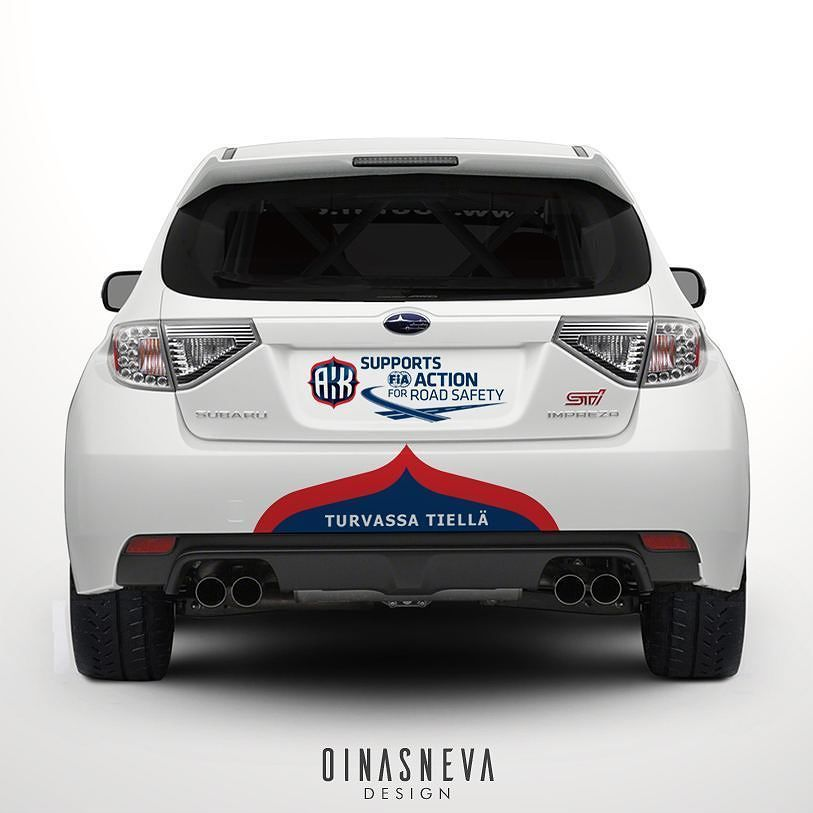 Livery design AKK Turvassa tiellä / 0 car SM Vaakuna-ralli #turvassatiellä #akk #rallism #0 #smvaakunaralli #design #art #vector #graphicdesign #illustration #artwork #carart #autoart #rallyart #rally #racing #ralli #printdesign #photoshop #carlivery #carliverydesign #livery #autograph #rallycar #subaru #subaruimpreza @ralli_sm @turvassatiella @smvaakunaralli by oinasneva