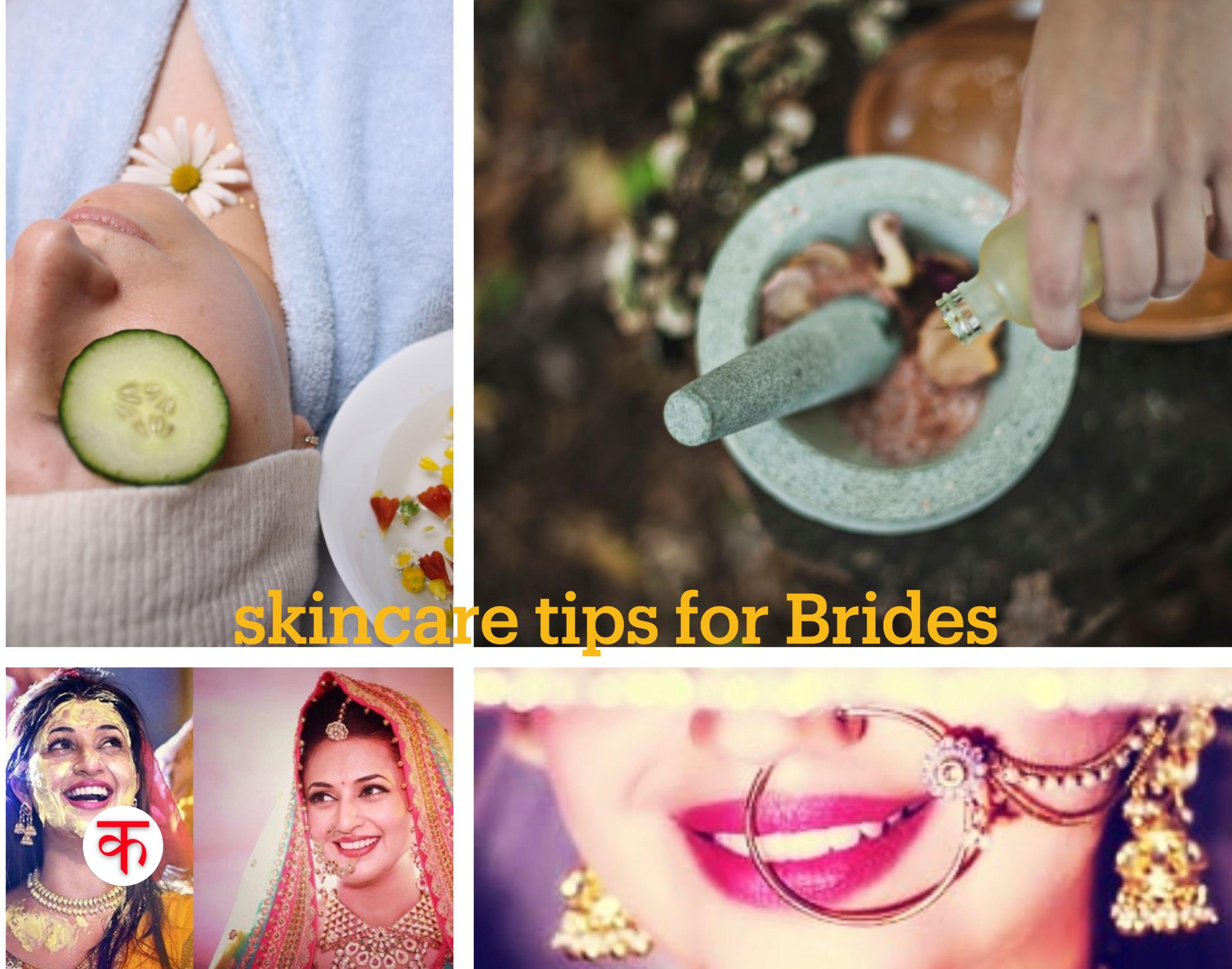 Easy Skincare Tips for Brides Bridal skin care, Natural