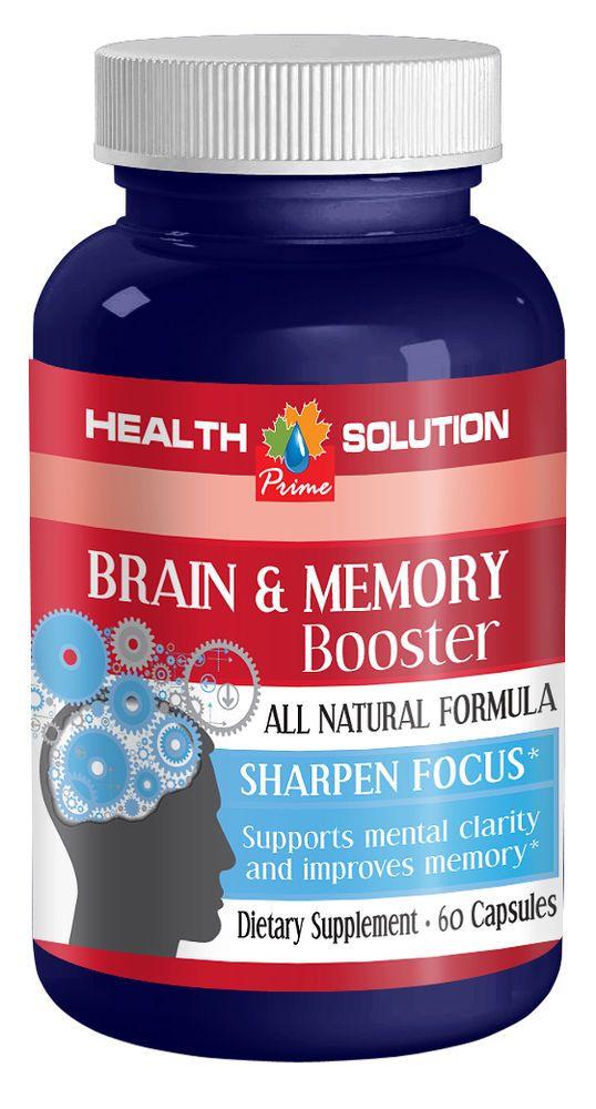 Enhance Brain Metabolism Caps - Memory & Brain Booster 775mg - Brain Tablets 1B #HS Brain