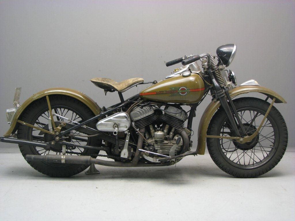 Harley Davidson: Harley Davidson WLA 750 Cc, 1942 This Is A Real Classic