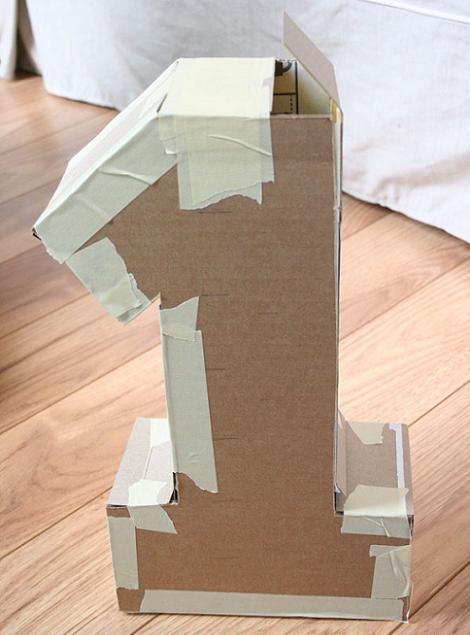 Pi ata casera cumplea os 1 a o como hacer tom s 1 en - Como hacer decoracion de cumpleanos ...