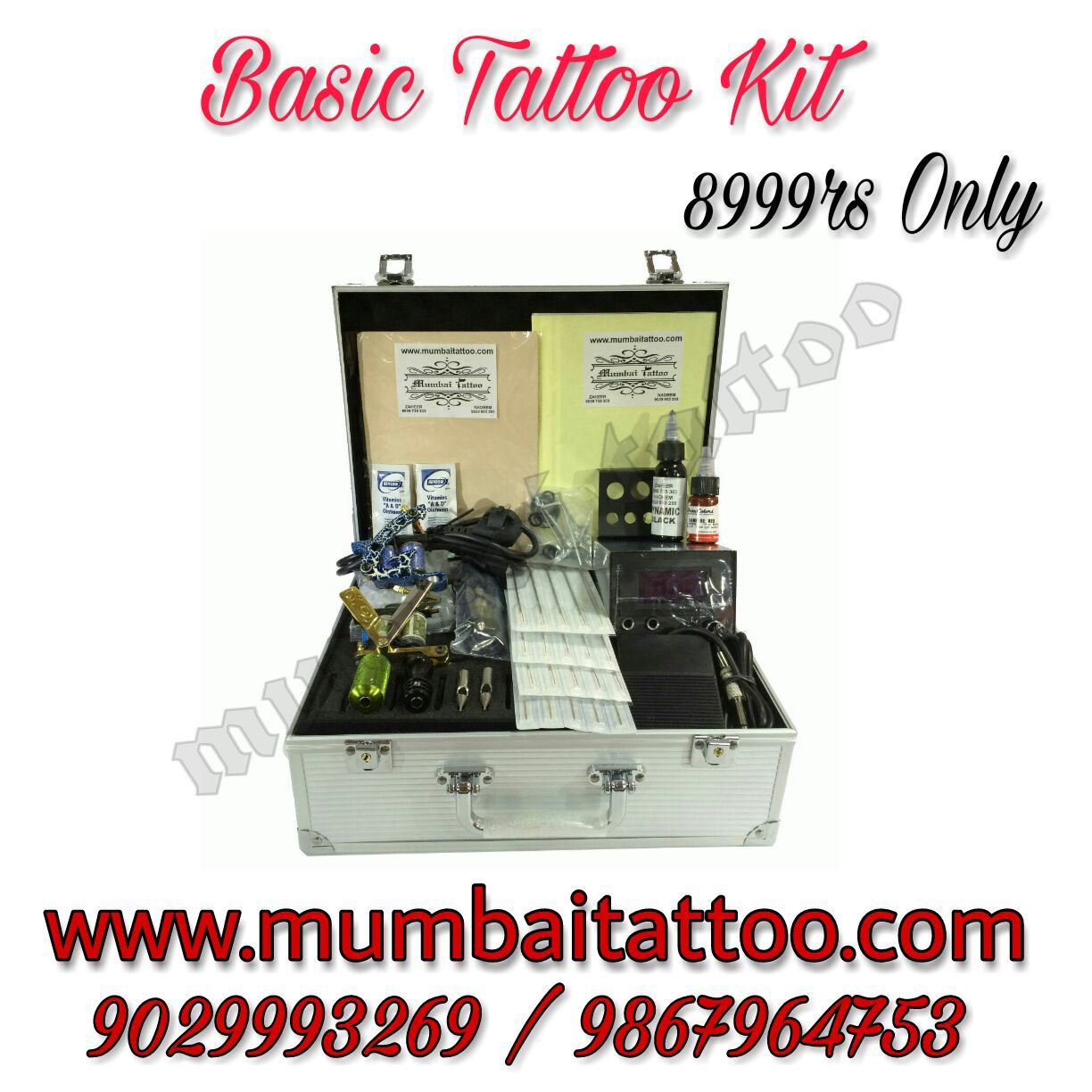 Basic tattoo kits only in 8999 rs by TATTOO MACHINES KITS WITH ...
