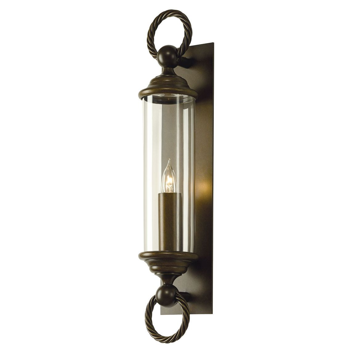 Cavo Large Outdoor Wall Sconce Iron Wall Sconces Sconces