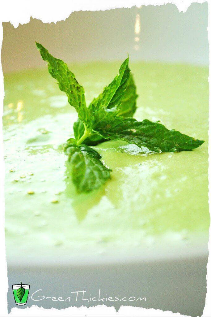 Raw Blender Cream of Spinach Soup Recipe (Meal Replacement Soup) #spinachsoup