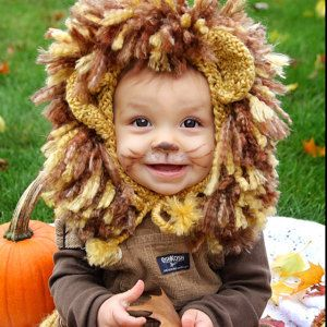 72e3f17bc Lion Costume Baby Lion CostumeLion CostumeBaby by smittenwithknitn ...