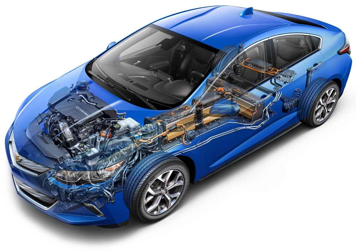 Inside The Chevrolet 2016 Volt Electric Car Chevrolet Volt