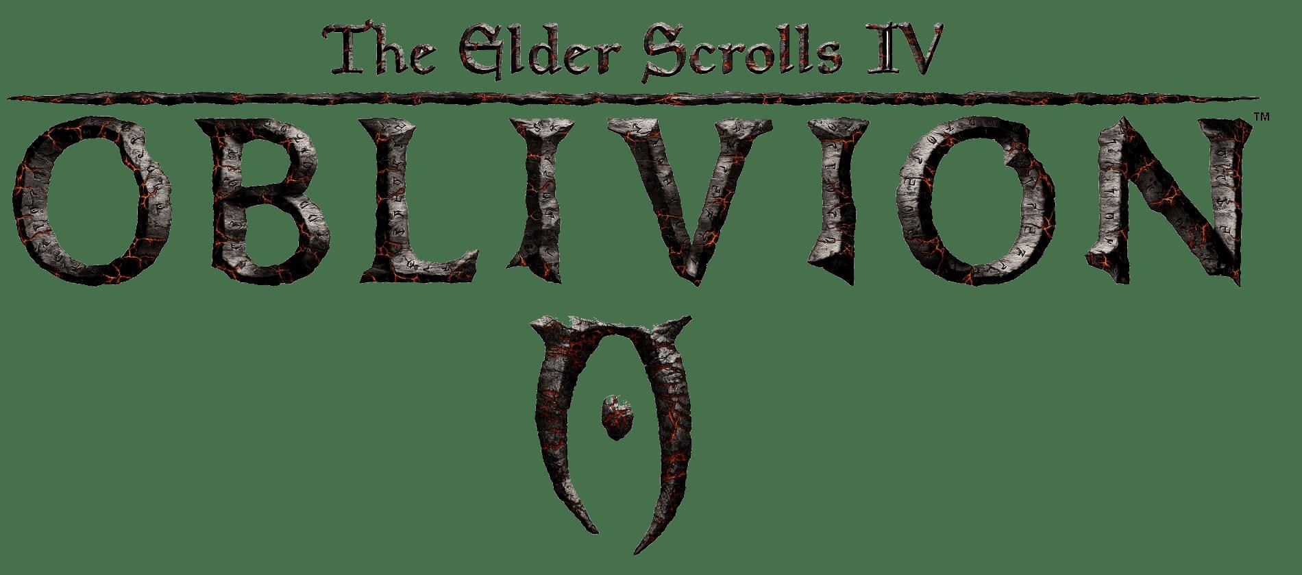 Oblivion The Elder Scrolls Iv Elder Scrolls Game Logo