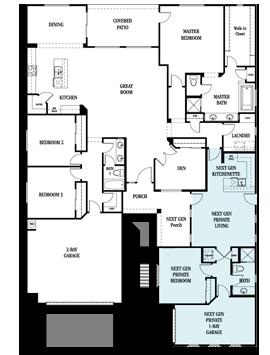 Lennar multigenerational homes floor plans