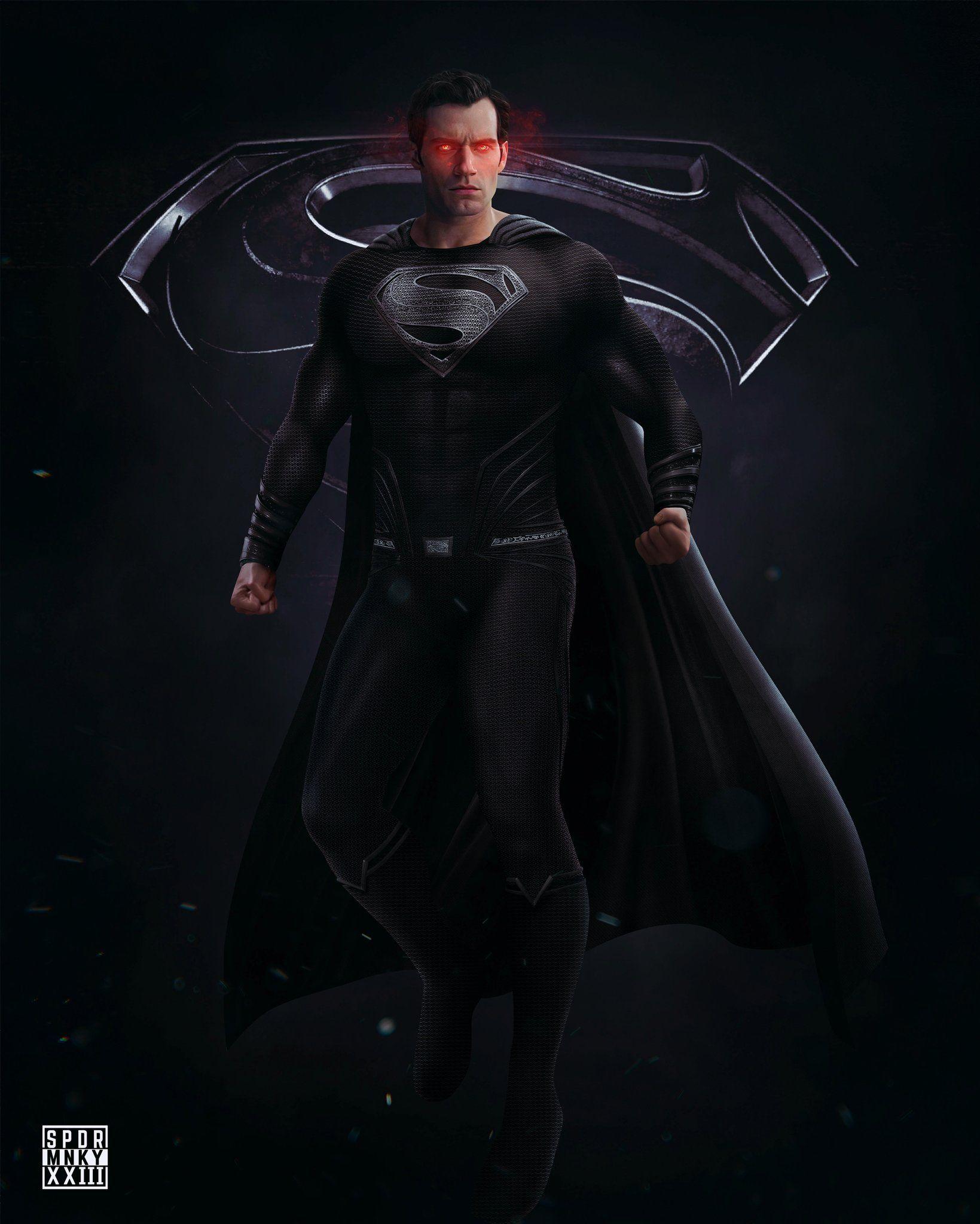 Spdrmnkyxxiii On Twitter In 2021 Batman Superman Wonder Woman Superman Artwork Superman Black Suit