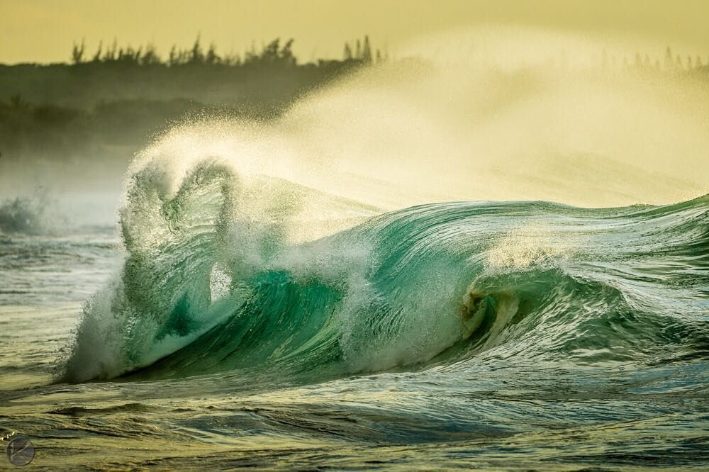 Photo by @jonathankingston Happy Valentines day!  Storms in the Bering sea  island in the middle of the pacific = heart shaped wave.  Captured in Hawaii December 2014. Because theres nothing more beautiful than the way the ocean refuses to stop kissing the shoreline no matter how many times its sent away. - Sarah Kay by natgeotravel