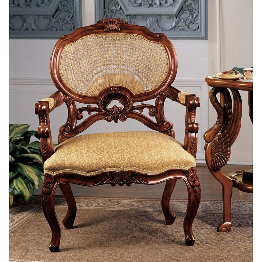 Park Avenue Collection Chateau Marquee Occasional Chair