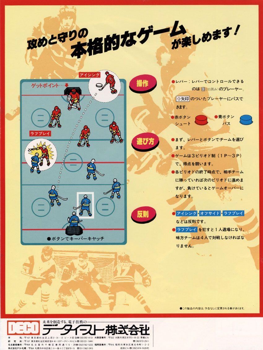 Fighting Ice Hockey