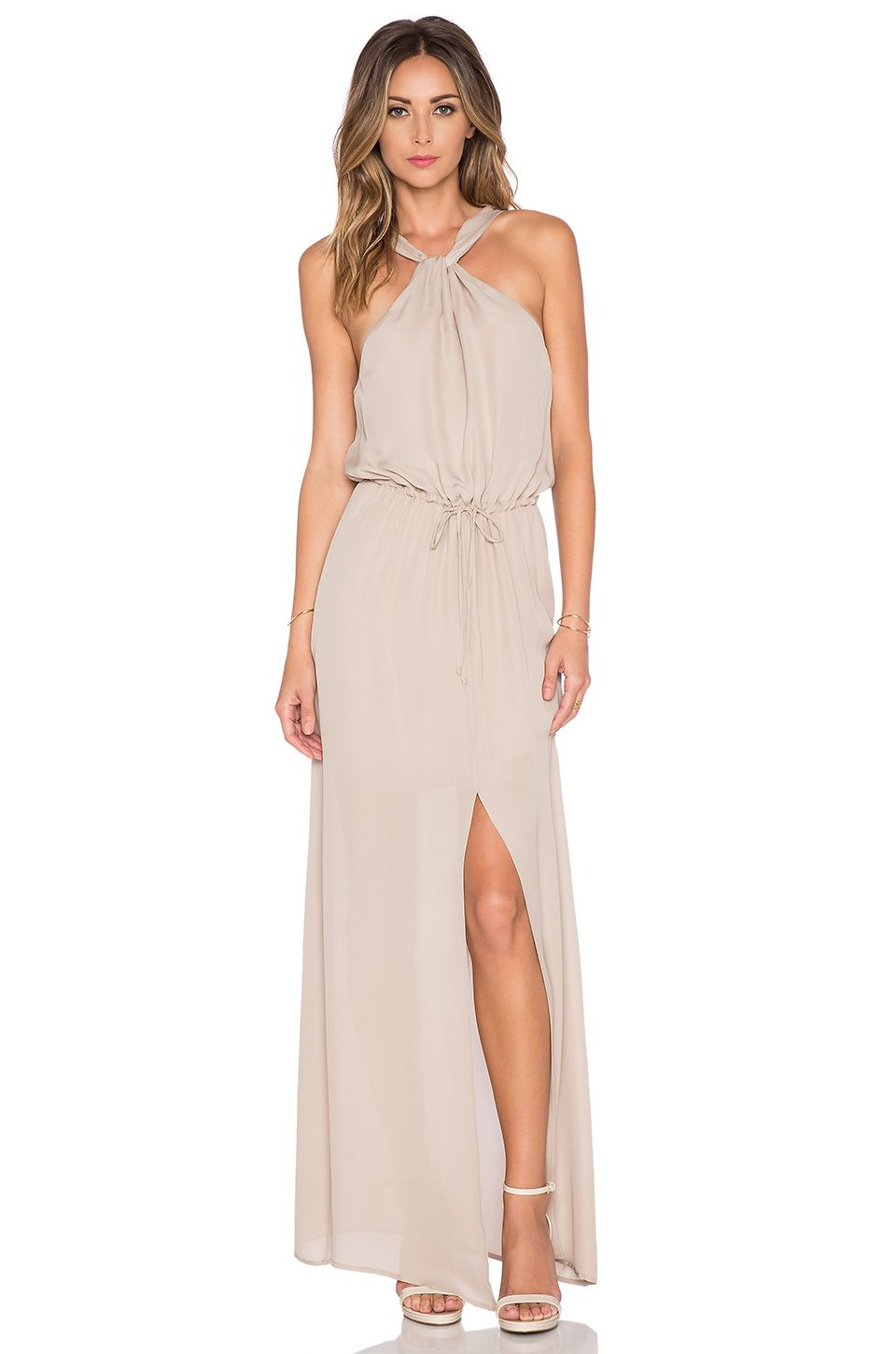 Long dress for wedding guest  REVOLVEclothing  Dresses  Pinterest  Maids Black tie and Gowns