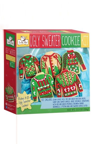 Brand Castle Ugly Sweater Cookie Kit Christmas Ugly Sweater