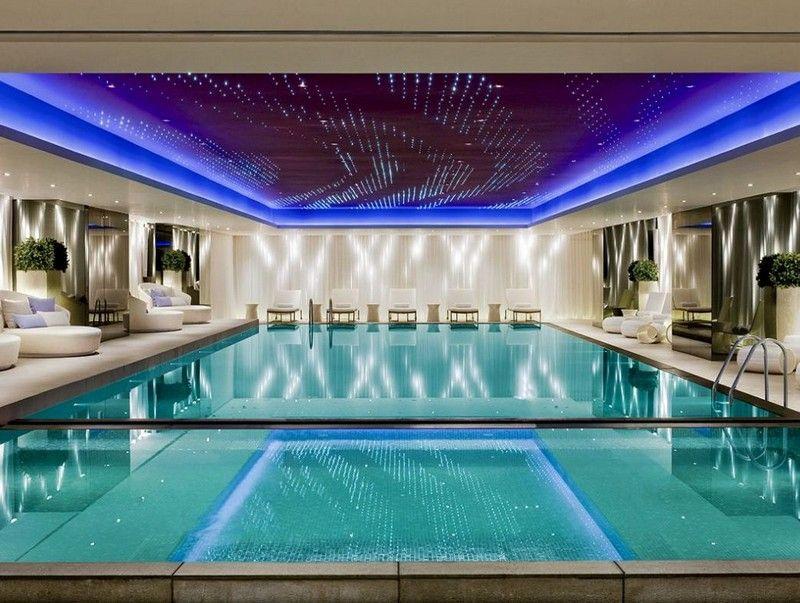 Indoor Pool bauen - 50 traumhafte Schwimmbäder Wohnen Pinterest - indoor pool bauen traumhafte schwimmbaeder