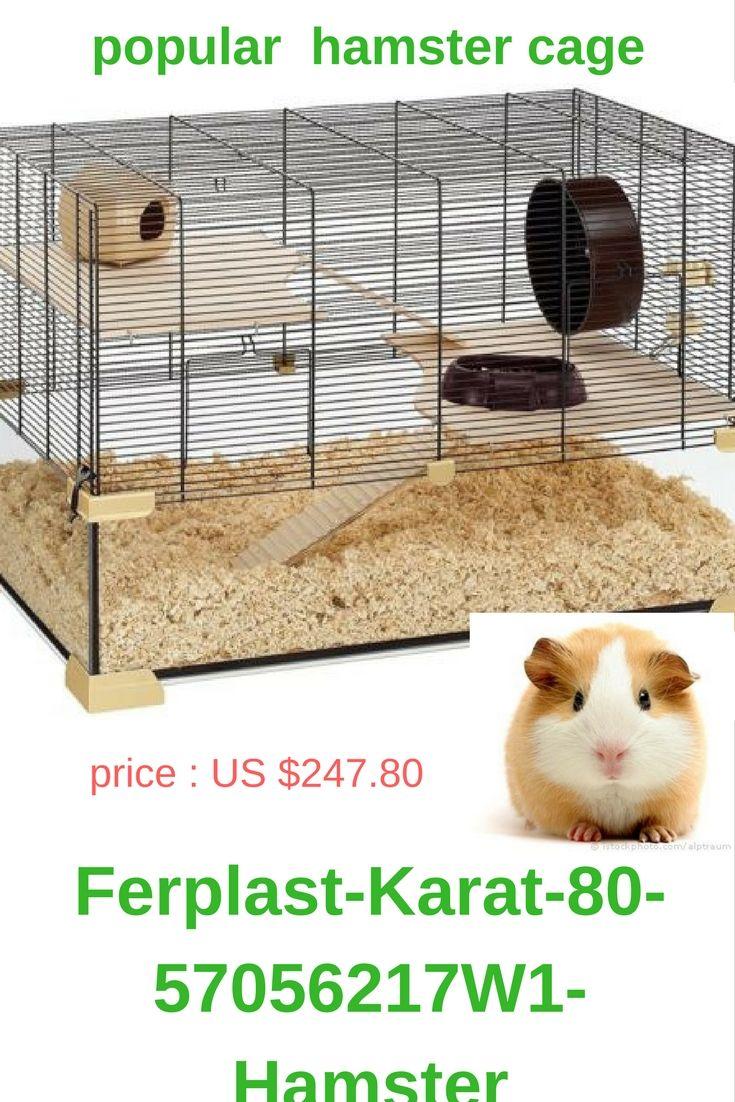 Best Hamster Cage Popular Hamster Cage Ferplast Karat 80 57056217w1 Hamster Mouse Cage 78 5 X 45 5 X 52 5 Cm Black Hamster Cages Hamster Pets
