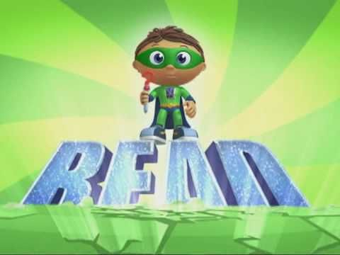 Super WHY S03E01 The Story of the Super Readers - video dailymotion