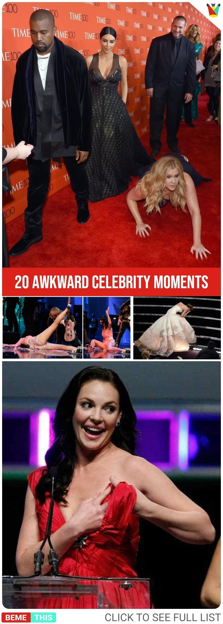 29 Best Celebrity Awkward Moments images | Celebrities ...