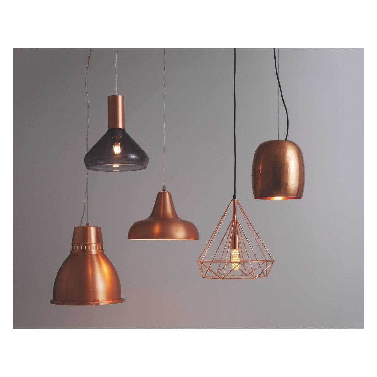 Copper Kitchen Light Fixtures Antwerp Copper Metal Ceiling Light Buy Now At Habitat Uk Home