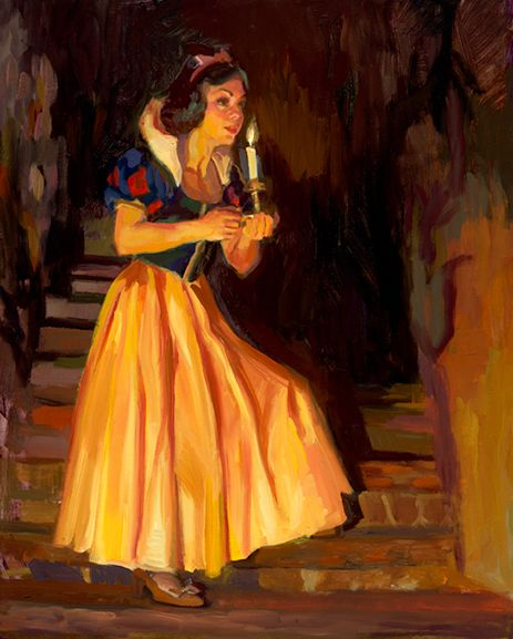 Up the Stairs - by C.M. Cooper - Snow White and the Seven Dwarfs