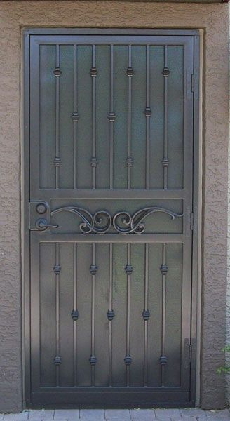 Security Screen Doors Great Gates And Whiting Iron In Phoenix Az