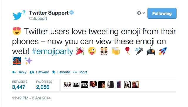 Twitter For The Web Now Supports Emoji Let S Emojiparty Aplikasi Teknologi
