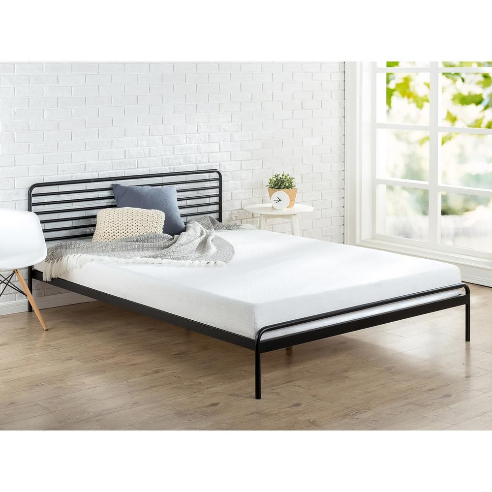 Zinus Tom Metal Platform Bed Frame King Hd Rppba 14k Metal