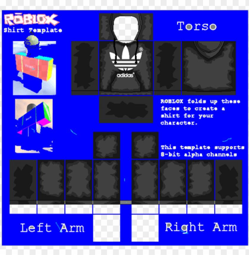 Roblox Jacket Png Png Free Library Roblox Adidas Shirt Template Roblox Shirt Hoodie Roblox Adidas Shirt