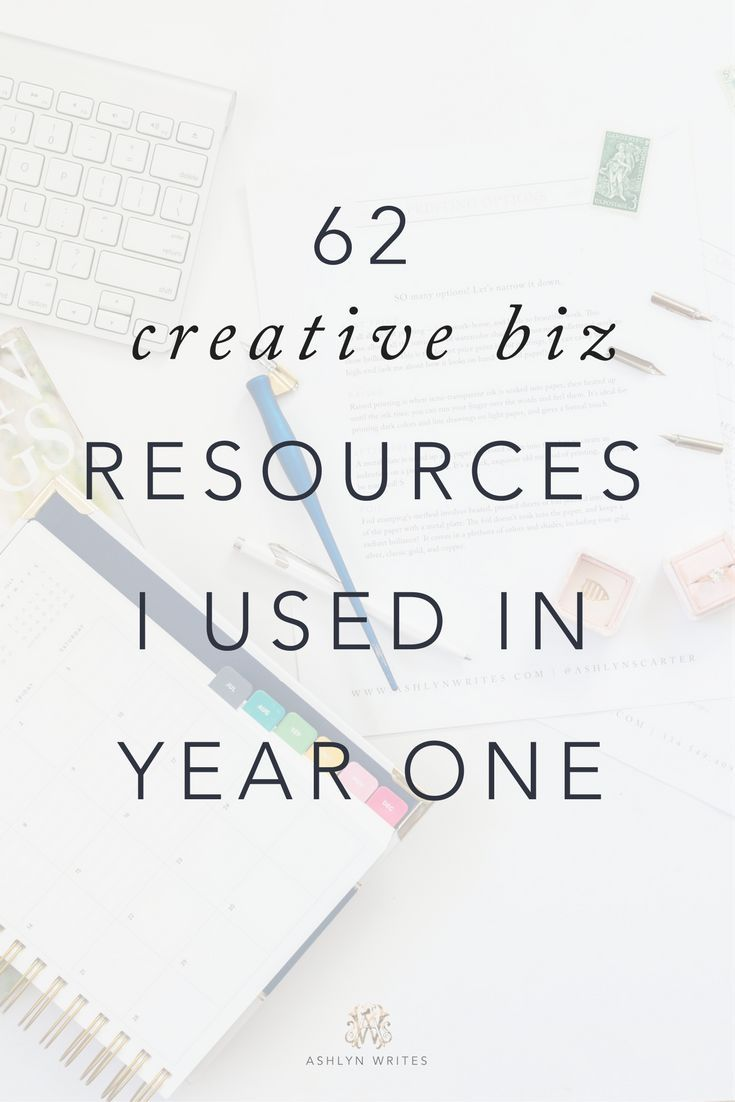 62 Business And Blogging Resources I Used In The First Year Of My