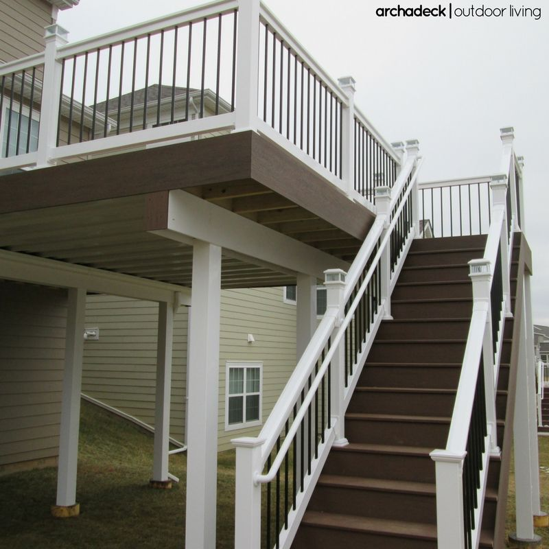 Customer Projects Building Supplies For Pa Md Nj White Deck Deck Upgrade Deck Paint