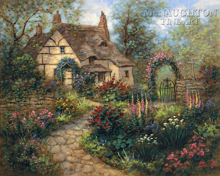 cottage gardens Landscapes Cottages Cottage Garden