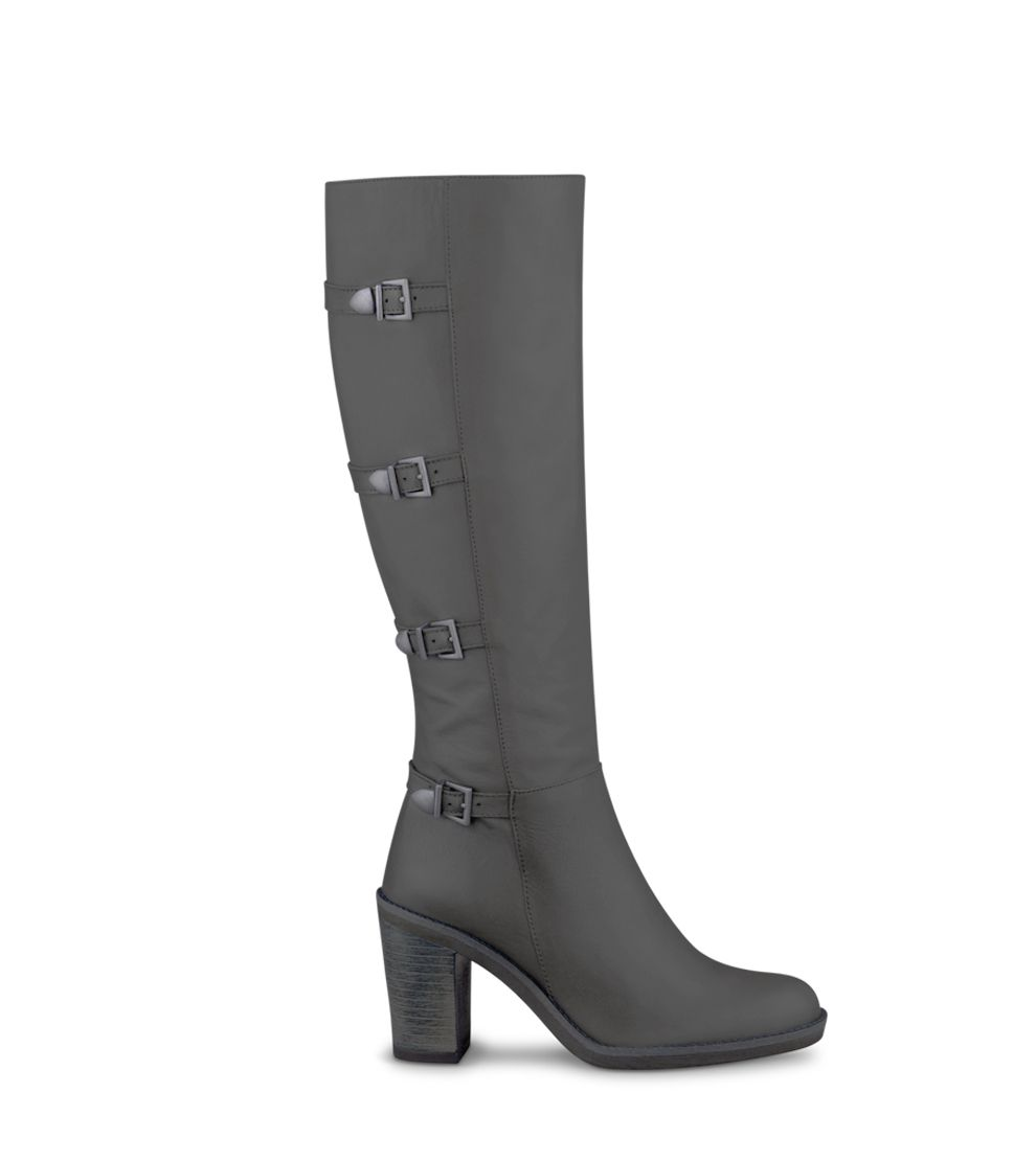 grey boots - Duo