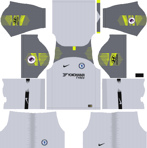 Nike Chelsea 2018 19 Dream League Soccer Kits 512x512 Url Soccer Kits Soccer League
