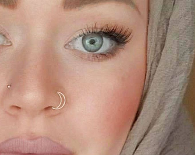 Small cartilage Ring, Thin hoop ring, cartilage piercing, helix silver hoop, small gold hoops, nose jewelry, body piercing, hoop earring