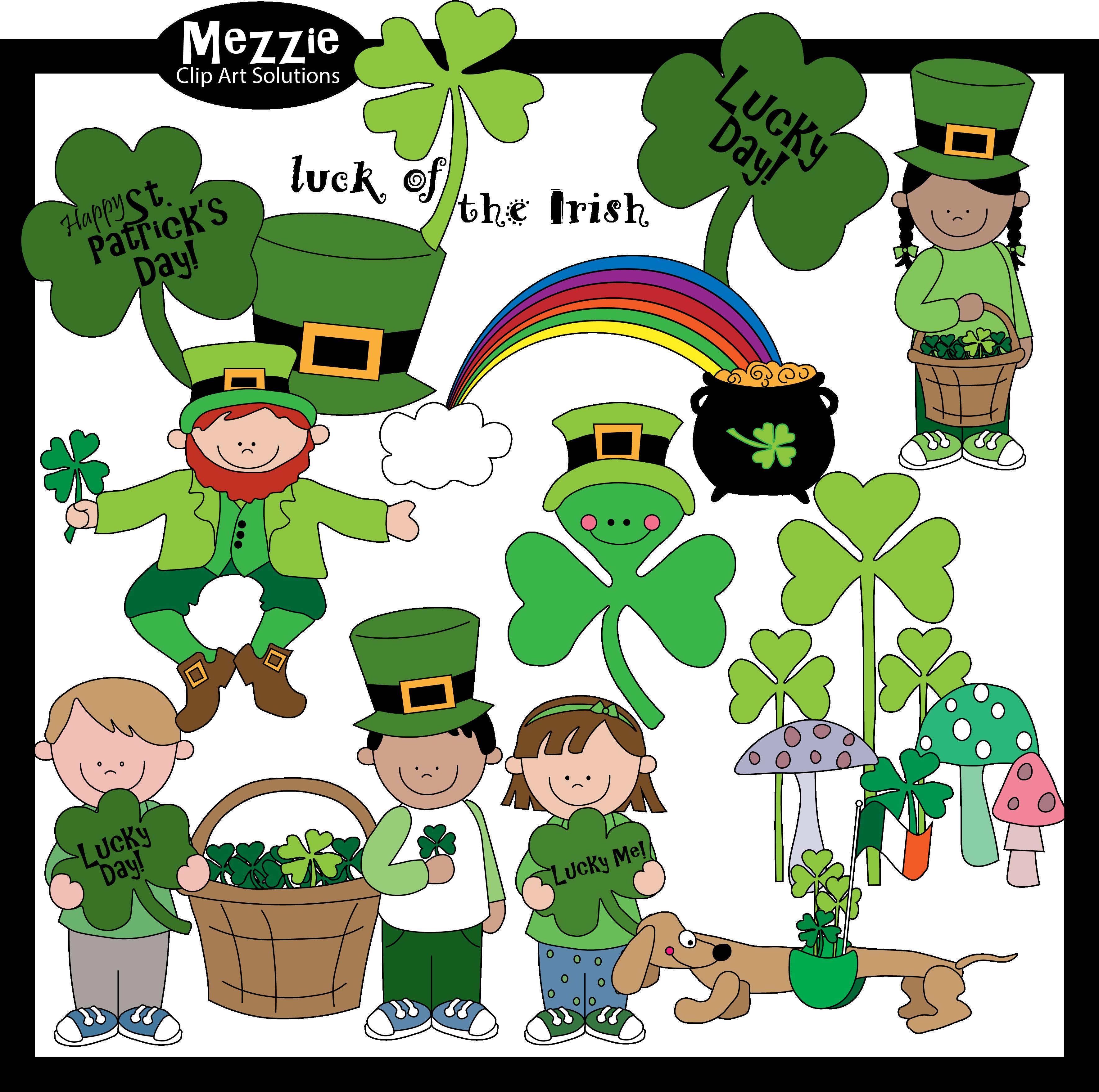 Saint Patrick S Day Color Clip Art
