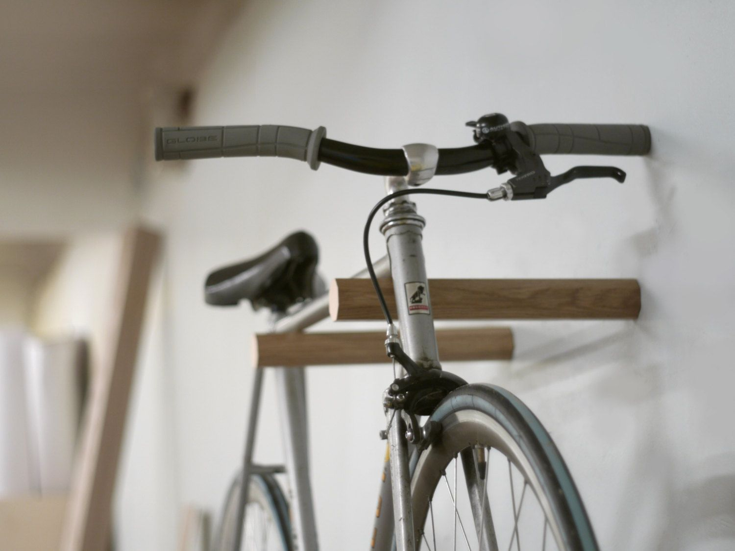 Look jeremy s bicycle rack apartment therapy - Cool Indoor Bike Racks For Offices Google Search