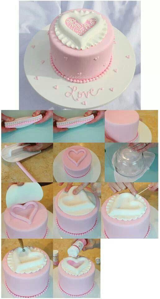 Tutorial torta San Valentín!!!