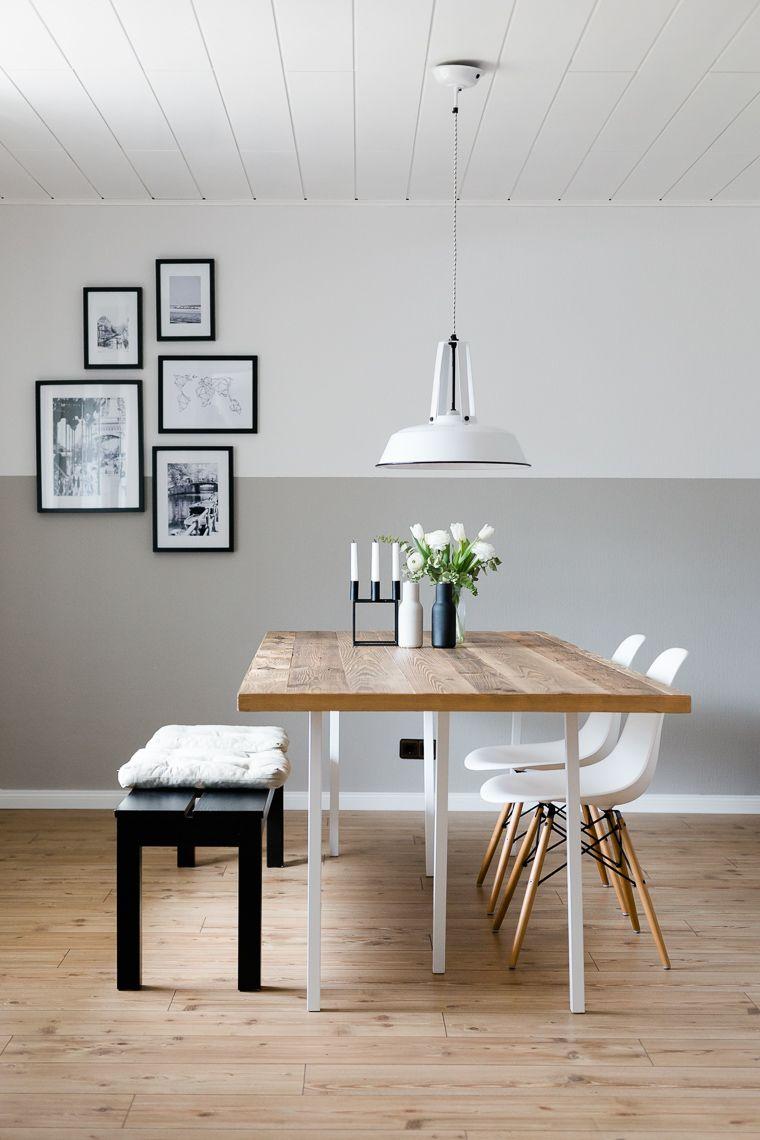 esszimmer im skandinavischen stil | dreierlei liebelei | couch, Esszimmer