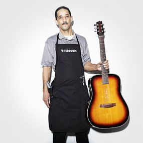 $ 16.00  |  30 Pts (Freight: 1)  Item #: DB10 D'Addario Luthier Apron  Black with printed D'Addario logo; US Made