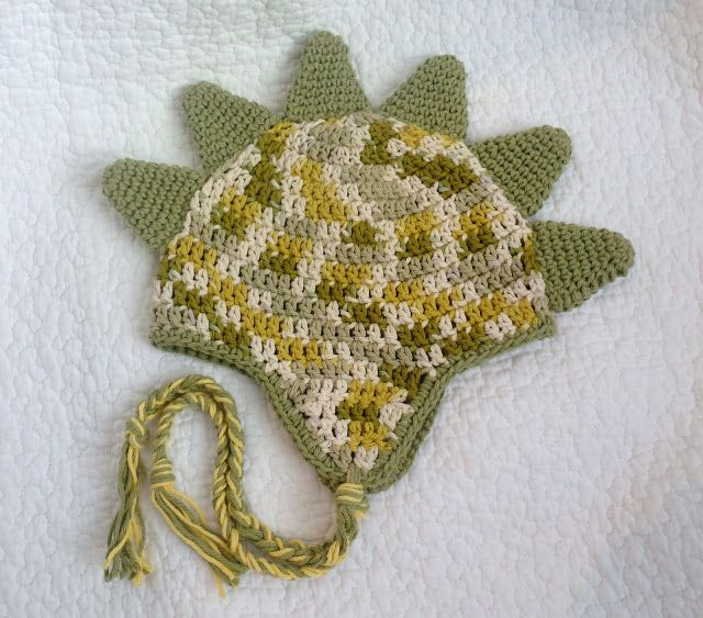 Dinosaur Spike Pixie Hat Pattern Sewing Crochet And Craft