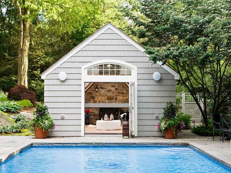 Simple Pool House Interior Design Http Modtopiastudio Com The