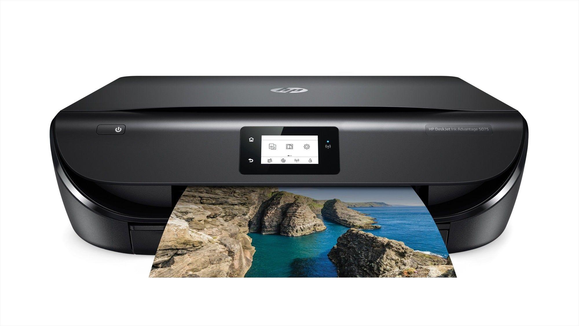 Hp Deskjet 5075 Inkjet 10 Ppm 4800 X 1200 Dpi A4 Wi Fi In Stock At Best Buy Cyprus For 110 00 Wireless Printer Hp Instant Ink Printer