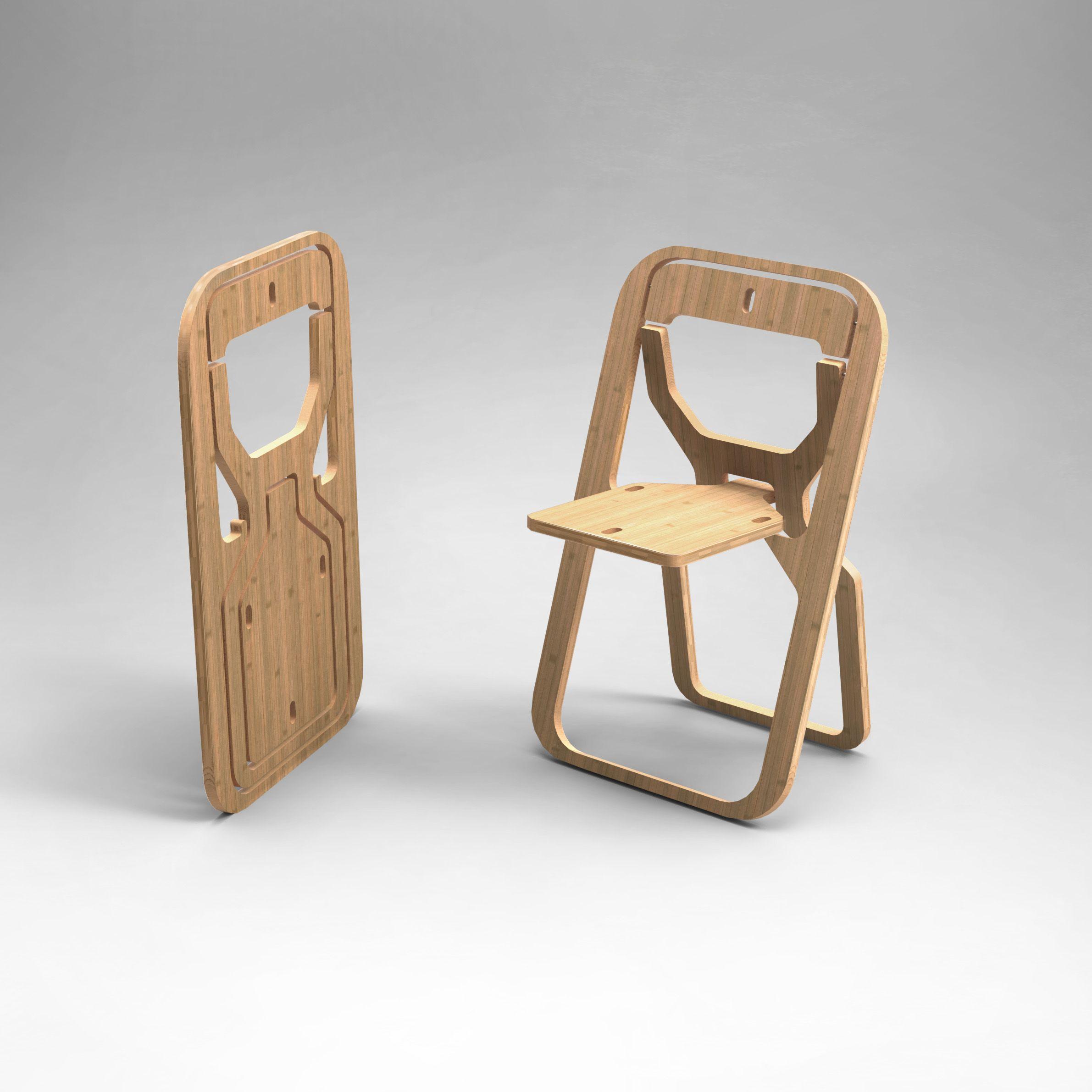 chaise design pliante pliable INFINE en 2020   Chaise