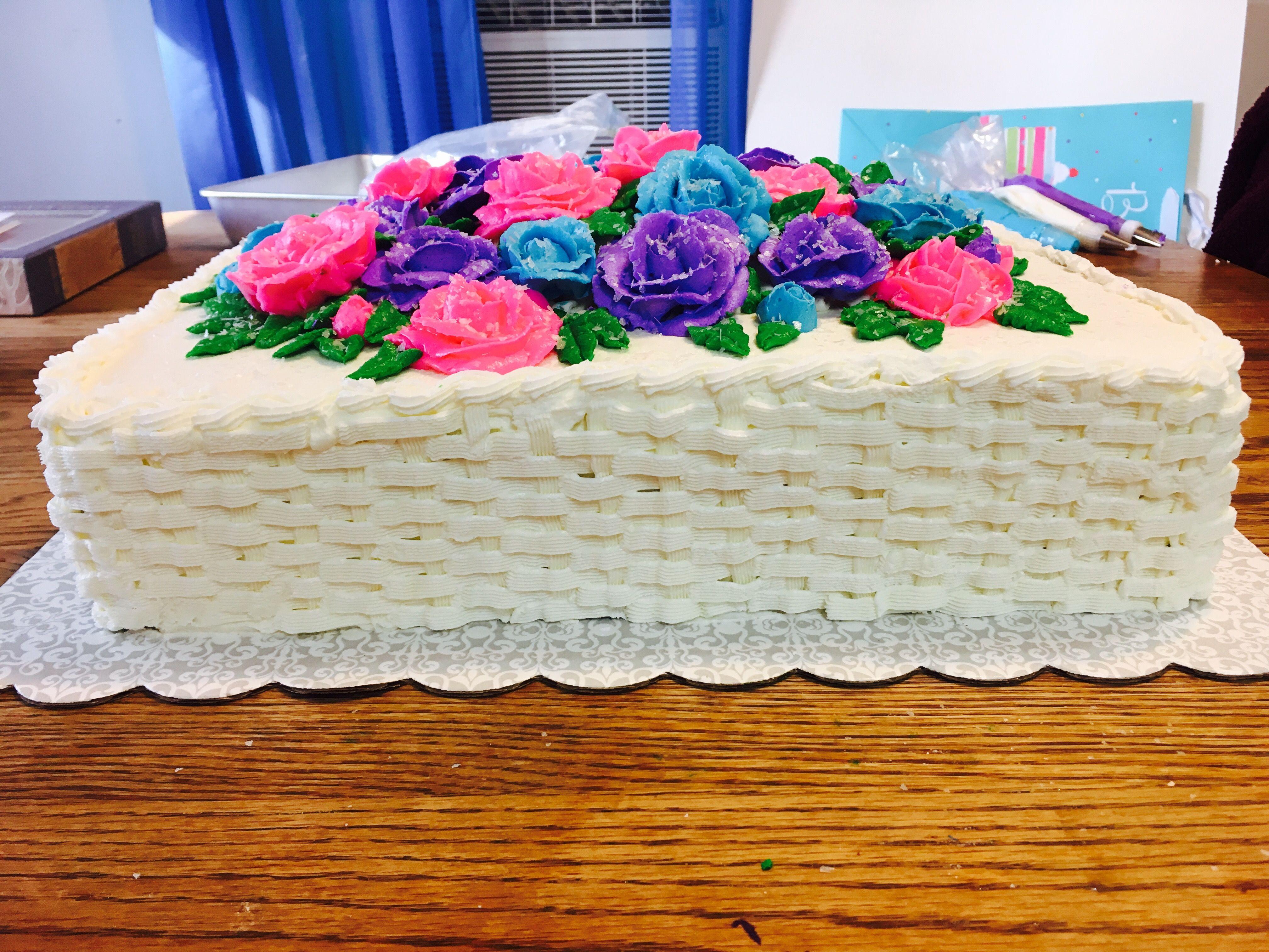 Mama's 71st Birthday Cake