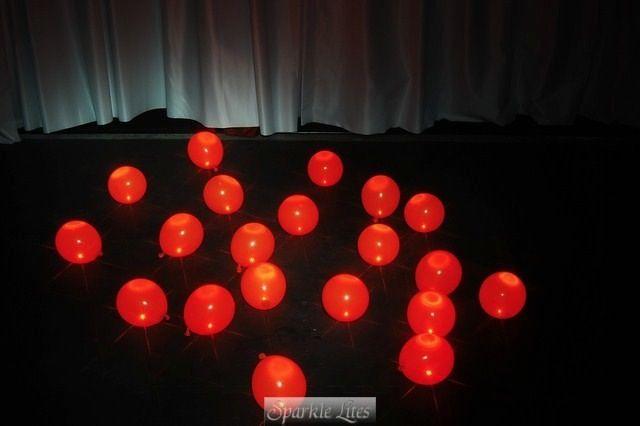 Halloween Dance Floor Fun with Mini Party Balls Orange Party Dots - halloween dance ideas