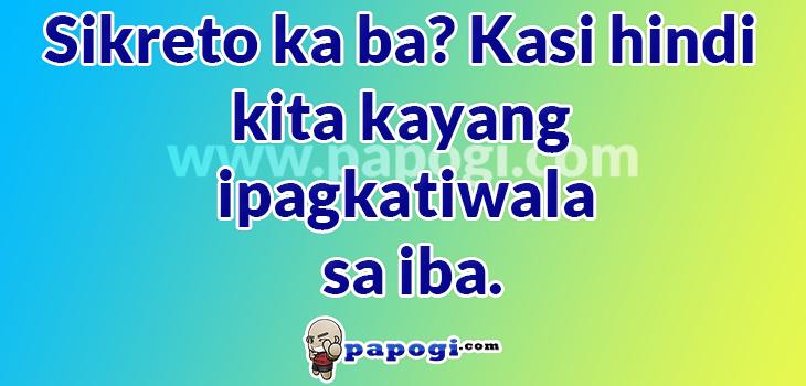 Tagalog Sweet Pickup Lines Tagalog Love Quotes Pick Up Lines Tagalog Tagalog Quotes